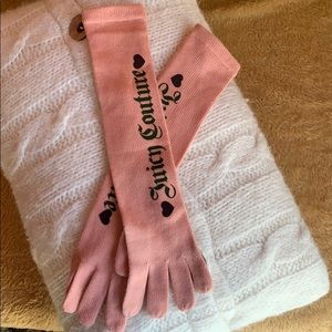 NWOT Juicy Couture Gloves